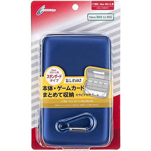 Image 1 for Semi Hard Case for New 3DS LL (Navy)