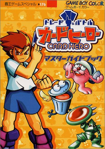Image 1 for Trade & Battle Card Hero Master Guide Book Game Boy Color / Gbc