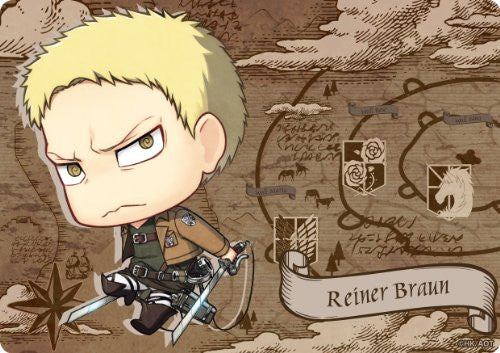 Image 1 for Shingeki no Kyojin - Reiner Braun - Mousepad - Chimi (Gift)