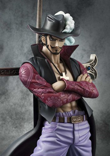 Image 7 for One Piece - Juracule Mihawk - Excellent Model - Portrait Of Pirates DX - 1/8 - Ver. 2 (MegaHouse)