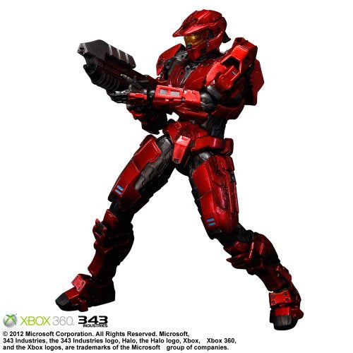 Image 1 for Halo: Combat Evolved - Spartan Mark V - Play Arts Kai - Red (Microsoft Square Enix)