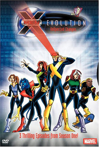 Image for X-Men: Evolution Season1 Volume1: UnXpected Changes