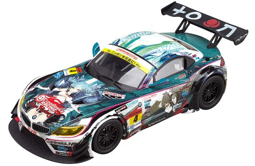 Image 1 for GOOD SMILE Racing - Vocaloid - Hatsune Miku - Itasha - 2014 Hatsune Miku GOOD SMILE Racing BMW Z4 GT3 - 1/32 - BMW Z4 GT3 - 2014 Season Opening Version (Good Smile Company)