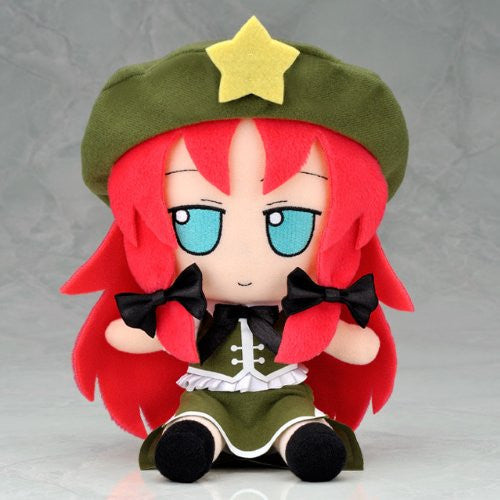 Image 1 for Touhou Project - Hong Meiling - FumoFumo - Touhou Plush Series 13 (AngelType, Gift)
