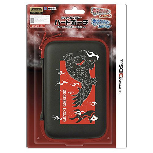 Image 1 for Pokemon Hard Pouch for 3DS LL (Genshi Groudon)