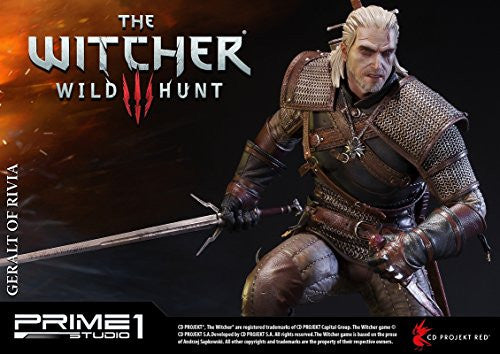 Image 11 for The Witcher 3: Wild Hunt - Geralt - Howler - Premium Masterline PMW3-01 - 1/4 (Prime 1 Studio)