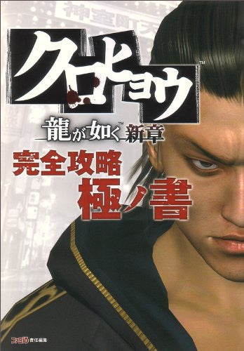 Image 1 for Kurohyo Ryu Ga Gotoku Shinshou Perfect Strategy Guide Book / Psp
