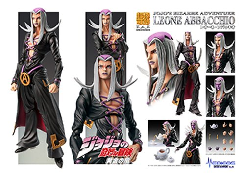 Image 3 for Jojo no Kimyou na Bouken - Vento Aureo - Leone Abbacchio - Super Action Statue #58 (Medicos Entertainment)