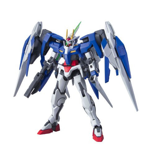 Image 5 for Gekijouban Kidou Senshi Gundam 00: A Wakening of the Trailblazer - GN-0000RE + GNR-010 00 Raiser GN Condenser Type - HG00 #70 - 1/144 (Bandai)