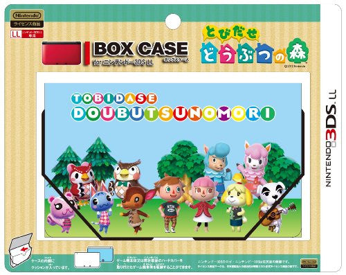 Image 1 for Box Case for 3DS LL (Tobidase Doubutsu no Mori Shugo)