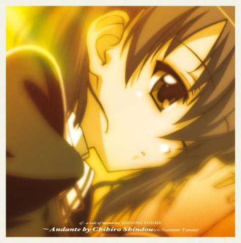 Image for ef - a tale of memories. ENDING THEME ~Andante by Chihiro Shindou (cv: Natsumi Yanase)