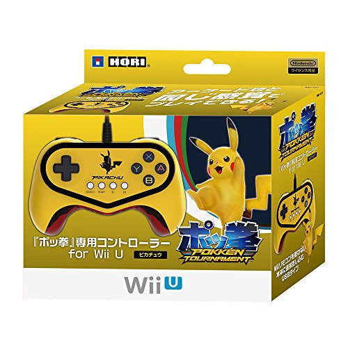 Image 1 for Hori Official Pokkén Tournament Controller for Wii U - Pikachu Version
