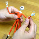 Thumbnail 6 for The Nightmare Before Christmas - Jack Skellington - Zero - Revoltech - Revoltech SFX #017 - Santa Ver. (Kaiyodo)