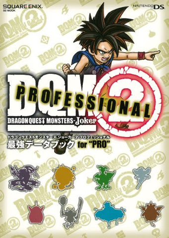 Image for Dragon Quest Monsters Joker 2 Professional Powerful Data Book For Pro