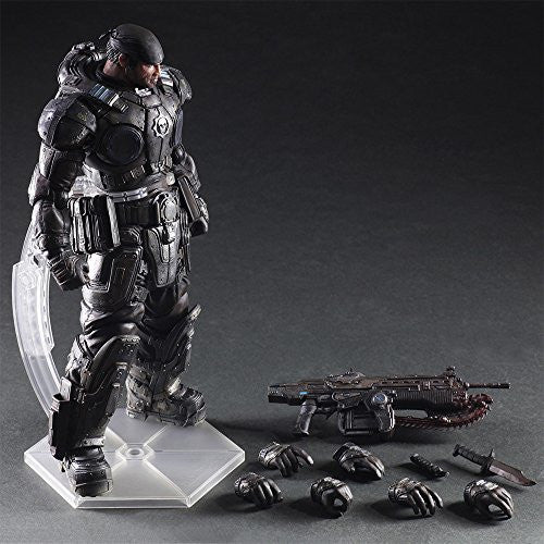 Image 2 for Gears of War - Marcus Fenix - Play Arts Kai (Square Enix)