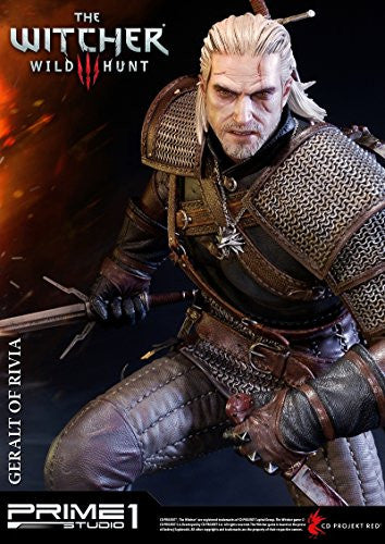 Image 5 for The Witcher 3: Wild Hunt - Geralt - Howler - Premium Masterline PMW3-01 - 1/4 (Prime 1 Studio)