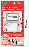 Thumbnail 1 for Protection Filter Decoration Seal Set for New Nintendo 3DS (Mickey & Minnie)