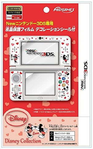 Image for Protection Filter Decoration Seal Set for New Nintendo 3DS (Mickey & Minnie)
