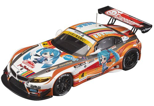 Image 1 for GOOD SMILE Racing - Vocaloid - Project Mirai - Hatsune Miku - Itasha - 2012 ProjectMirai GOOD SMILE Racing BMW Z4 GT3 - 1/43 - BMW Z4 GT3 - 2012 Season Opening Version (Max Factory)