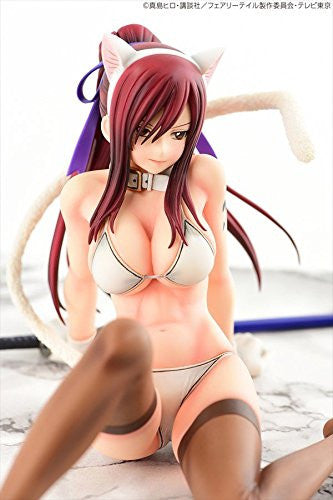 Image 6 for Fairy Tail - Erza Scarlet - 1/6 - White Cat Gravure_Style (Orca Toys)