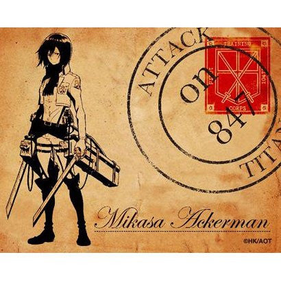 Image 1 for Shingeki no Kyojin - Mikasa Ackerman - Mini Towel - Towel (Fragment)