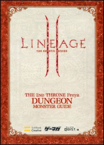 Image for Lineage Ii The 2nd Throne Freya Monster Guide Book Dungeon Hen / Online Game