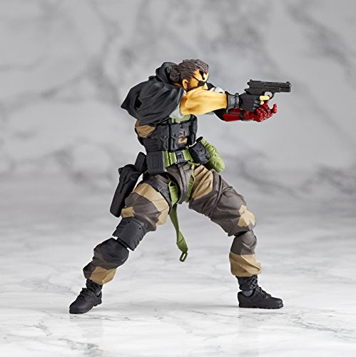 Image 5 for Metal Gear Solid V: The Phantom Pain - Naked Snake - Revolmini rm-012 - Revoltech - Venom ver. (Kaiyodo)