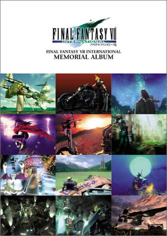 Image 1 for Final Fantasy Vii 7 International Memorial Album Art Book / Ps