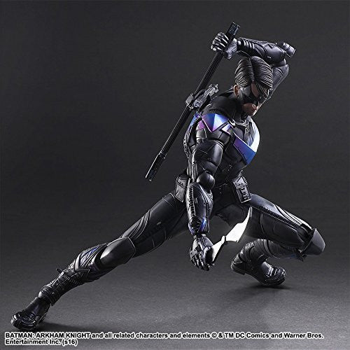 Image 3 for Batman: Arkham Knight - Nightwing - Play Arts Kai (Square Enix)