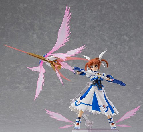 Image 4 for Mahou Shoujo Lyrical Nanoha The Movie 2nd A's - Takamachi Nanoha - Figma #185 - Excelion Mode ver. (Max Factory)