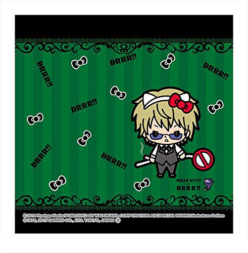 Image 1 for Durarara!! - Hello Kitty - Heiwajima Shizuo - Towel - Mini Towel - Hello Kitty x Durarara!! (Asunarosya)