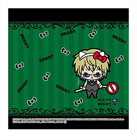 Image for Durarara!! - Hello Kitty - Heiwajima Shizuo - Towel - Mini Towel - Hello Kitty x Durarara!! (Asunarosya)