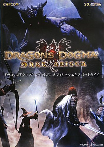 Image for Dragon's Dogma Dark Arisen Official Expert Guide Book