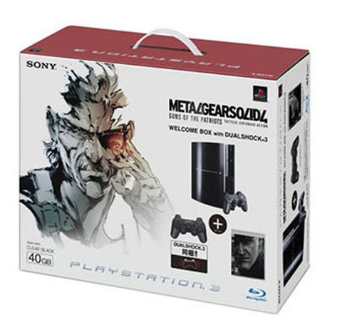 Image for PS3 MGS4 Welcome Box with Dual Shock 3 (Clear Black)