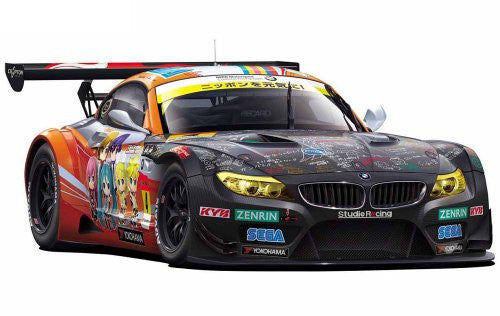 Image 1 for Vocaloid - GOOD SMILE Racing - Hatsune Miku and Future Stars: Project Mirai - Hatsune Miku - Itasha - 2012 ProjectMirai GOOD SMILE Racing BMW Z4 GT3 - 1/24 - BMW Z4 GT3 - Round 2 (Fuji) (Fujimi)