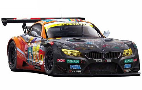 Image for Vocaloid - GOOD SMILE Racing - Hatsune Miku and Future Stars: Project Mirai - Hatsune Miku - Itasha - 2012 ProjectMirai GOOD SMILE Racing BMW Z4 GT3 - 1/24 - BMW Z4 GT3 - Round 2 (Fuji) (Fujimi)