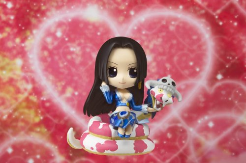 Image 4 for One Piece - Boa Hancock - Salome - Chibi-Arts - With Salome ver. (Bandai)