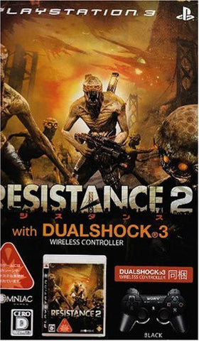 Image for Resistance 2 (With Dual Shock 3 Pack: Black)
