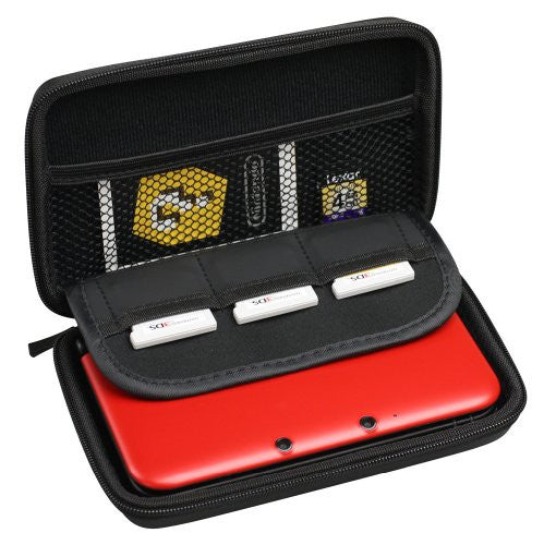 Image 3 for Retro Face Pouch for 3DS LL (Famicom Red)