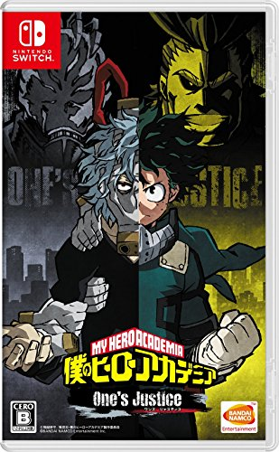My Hero Academia One's Justice Nintendo Switch