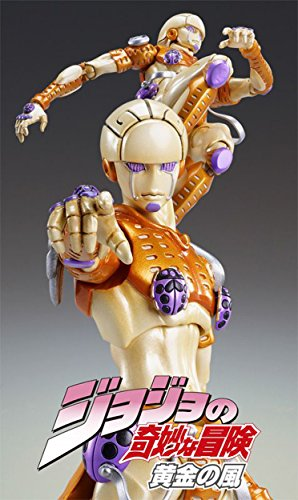 Image 5 for Jojo no Kimyou na Bouken - Vento Aureo - Gold Experience - Super Action Statue #38 (Medicos Entertainment)