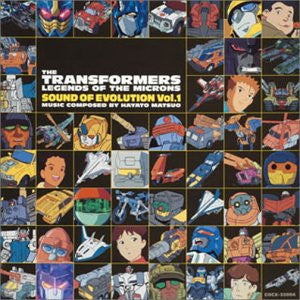 Image 1 for THE TRANSFORMERS LEGENDS OF THE MICRONS SOUND OF EVOLUTION Vol.1