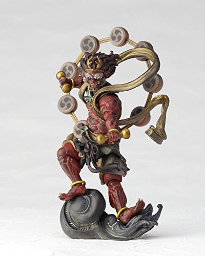 Image 8 for KT Project KT-EX05 - Revoltech - Raijin - Red (Kaiyodo)