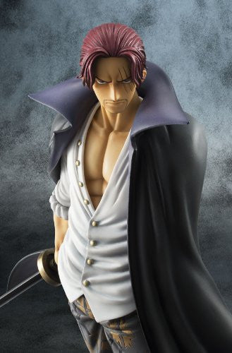 Image 5 for One Piece - Red-Haired Shanks - Excellent Model - Portrait Of Pirates DX - 1/8 - Marineford ver. (MegaHouse)