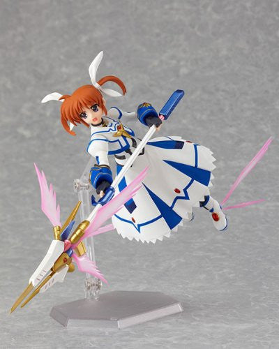 Image 5 for Mahou Shoujo Lyrical Nanoha The Movie 2nd A's - Takamachi Nanoha - Figma #159 - Sacred Mode ver. (Max Factory)