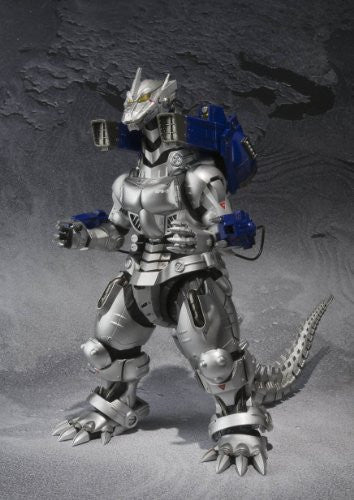Image 10 for Gojira vs. MechaGojira - MechaGojira - S.H.MonsterArts - MFS-3 Kiryu (Bandai)