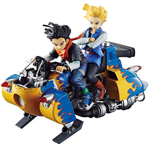 Image 1 for Dragon Ball Z - Ju-hachi Gou (Android 18) - Ju-nana Gou (Android 17) - Desktop Real McCoy 04 (MegaHouse)