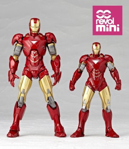 Image 11 for Iron Man 2 - Iron Man Mark VI - Revolmini rm-003 - Revoltech (Kaiyodo)
