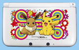 Thumbnail 1 for Pocket Monsters Hard Cover for Nintendo 3DS LL (Pikachu & Eievui)