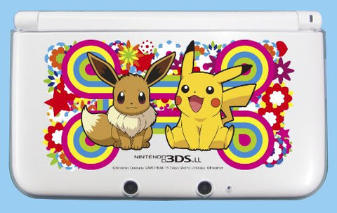 Image for Pocket Monsters Hard Cover for Nintendo 3DS LL (Pikachu & Eievui)